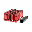Muteki SR48 Open Ended Lug Nuts - Red -