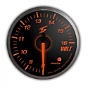 STRi DSD Amber 52mm Voltage Gauge