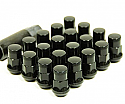 Muteki SR35 Close Ended Lug Nuts - Black -