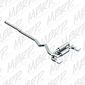 "MBRP 3"" Catback Exhaust Ford Focus RS 2016 - 2017"