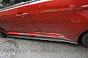 Rexpeed Type-1 Carbon Side Skirt Extensions Mitsubishi Evolution X 2008-14