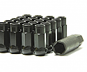 Muteki SR48 Open Ended Lug Nuts - Black -