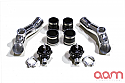 AAM Competition Upper Intercooler Pipe Kit w/ Twin Tial Q Series BOV Nissan GT-R 2009-17