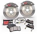 StopTech 6-Piston Trophy Sport Front Big Brake Kit Nissan 350Z 2003-05