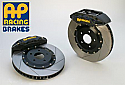 AP Racing 6-Piston Front Slotted RT Big Brake Kit Mitsubishi Evolution X 2008-14