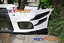 Rexpeed V-Style Carbon Fiber Canards Mitsubishi Evolution X 2008-14