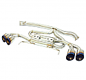 MXP Cat-Back Exhaust System Nissan GT-R 2009-17