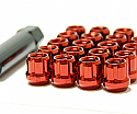 Muteki Classic Lug Nuts Short Open End - Red -