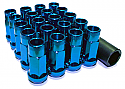 Muteki SR48 Open Ended Lug Nuts - Blue -