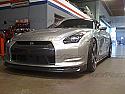 Rexpeed Z-Style Splitter Nissan GT-R 2008-11