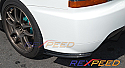 Rexpeed JDM Rear Carbon Bumper Extension Mitsubishi Evolution IX 2005-07