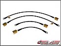 AMS Alpha Race Style SS Brake Lines R35 GT-R 2009-17