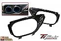 TiTek Carbon Fiber Exhaust Shroud - Gloss - Nissan GT-R 2009-16