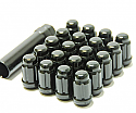 Muteki Classic Lug Nuts Short Closed End - Black -