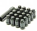 Muteki Classic Lug Nuts Short Closed End - Black -