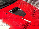 Rexpeed CW-Style Carbon Hood Scoop Mitsubishi Evolution X 2008-14