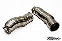 "TiTek Titanium 3"" Turbo Inlet Pipe Nissan GT-R 2009-17"