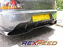 Rexpeed JDM Carbon Diffuser Mitsubishi Evolution IX 2005-07