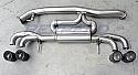 Rexspeed Stainless Steel Muffler Nissan GT-R 2008-17