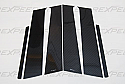 Rexpeed Varis Pillar Trim Mitsubishi Evolution X 2008-14