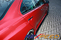 Rexpeed V-Style Carbon Side Skirt Extension Mitsubishi Evolution X 2008-14