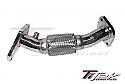TiTekSS Up Pipe w/ Flex Joint Subaru STi 2004-14