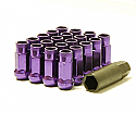 Muteki SR48 Open Ended Lug Nuts - Purple -