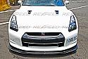 Rexpeed TS-Style Carbon Fiber Splitter Nissan GT-R 2008-11