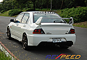 Rexpeed Type-2 FRP Trunk Spoiler Mitsubishi Evolution VIII & IX 2003-07