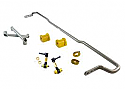 Whiteline Rear Sway Bar 18mm Adjustable w/ Braces - Subaru BRZ/ Scion FR-S