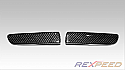 Rexpeed Carbon Rear Bumper Inserts Mitsubishi Evolution X 2008-14