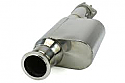Cosworth Mid Silencer Replacement Pipe - Subaru BRZ / Scion FR-S 2013-16