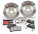 StopTech 6-Piston Trophy Sport Front Big Brake Kit Nissan 370Z 2009-15