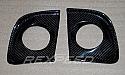 Rexpeed CF Fog Light Trim Mitsubishi Evolution X 2008-14