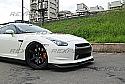 Rexpeed M-Style Carbon Fiber Splitter Nissan GT-R 2008-11
