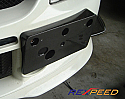 Rexpeed Carbon Fiber Plate Bracket Mitsubishi Evolution IX 2005-07