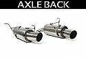 Perrin Axle-Back Exhaust - Sedan - Subaru WRX 2008-14 & STi 2011-14
