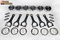 HKS Pistons & Connecting Rods 95.5mm Bore & 8.7:1CR Nissan GT-R 2009-17