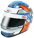 Bell GP.2 CMR Kinetic Blue Karting Helmet
