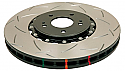 DBA 5000 Series UNIDIRECTIONAL FRONT Slotted Brake Rotor Mitsubishi Evolution X