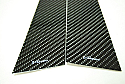 Rexpeed Varis Carbon Fiber Pillar Trim Mitsubishi Evolution VIII & IX 2003-07