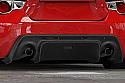 GReddy Rocket Bunny 86 Aero, Ver.2 - Rear Under Diffuser - ONLY - Subaru BRZ / Scion FR-S 2013-15