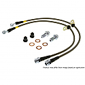 StopTech Stainless Steel Brake Lines Mitsubishi Evolution X 2008-14