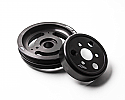 Agency Power Lightweight Crank Pulley with Water Pump Pulley Kit Ford Focus RS 2016 - 2017