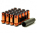 Muteki SR48 Open Ended Lug Nuts - Orange -