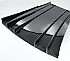 Werks 1 Carbon Fiber Diffuser Porsche 997 Turbo