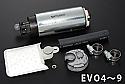 Tomei 255L/h Fuel Pump Mitsubishi Evolution VIII & IX 2003-06