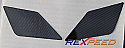 Rexpeed Carbon Wing Decal Mitsubishi Evolution X 2008-14