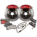 Stoptech ST-40 Big Brake Kit Front 355mm Red Slotted Rotors - Subaru BRZ / Scion FR-S