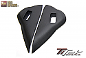 TiTek Matte Carbon Fiber Dash Vent Side Covers Nissan GT-R 2009-16